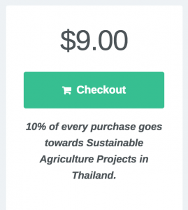 Product contribution note in Checkout theme