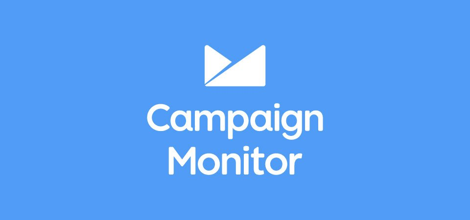 Campaign Monitor banner