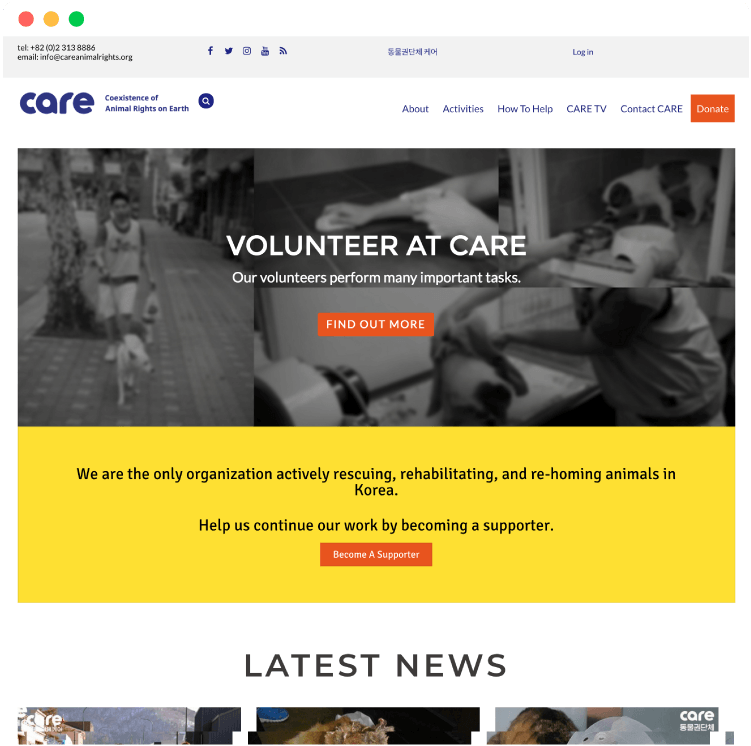 Care-Showcase-browser
